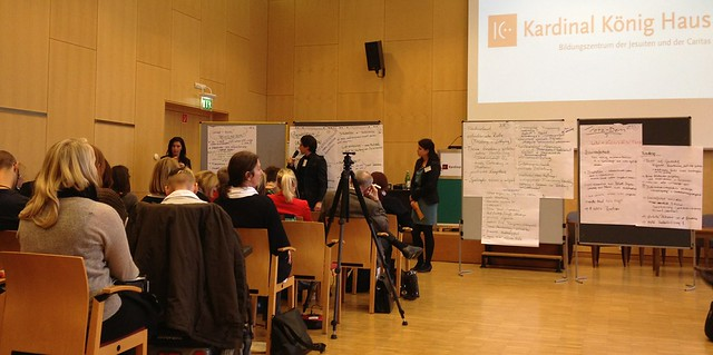 Präsentation der Zukunfts-Workshops