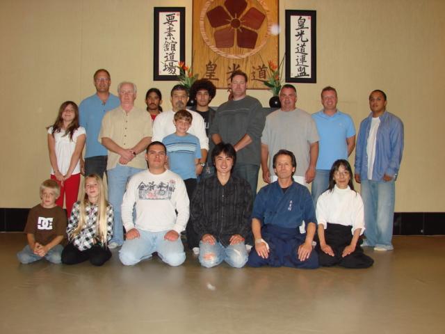 2009-8-27「Visit and Greet at Yosokan Dojo in Monterey Bay」