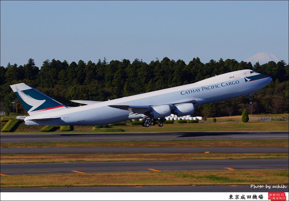 Cathay Pacific Airways Cargo / B-LJJ / Tokyo - Narita International