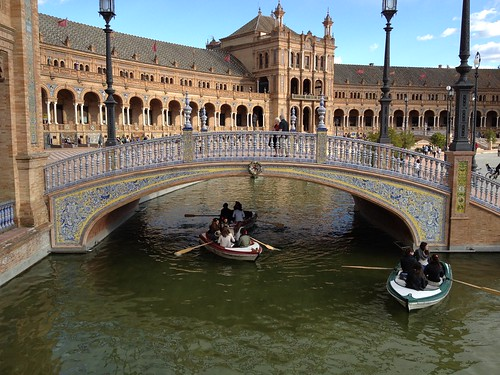 Plaza de España Boats Spain