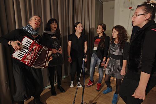 Cantando: spettacolo finale Tserovani Georgia