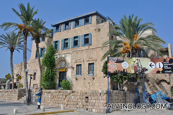 "Visitors' centre where you can catch a video of ""Jaffa Tales"""