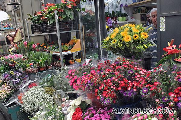 A small flower shop