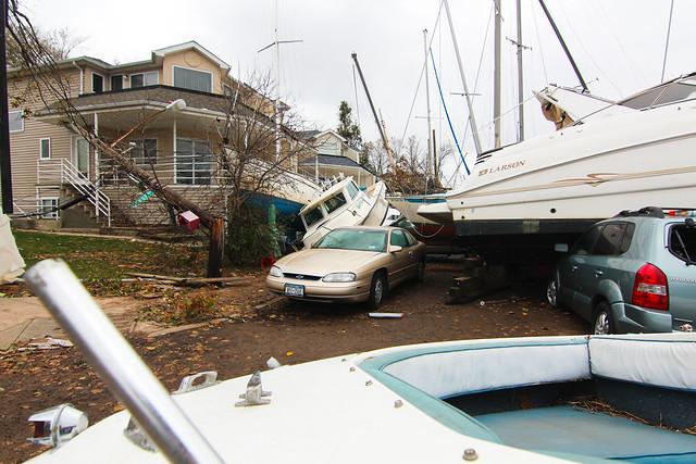 Hurricane Sandy - Staten Island Coastline