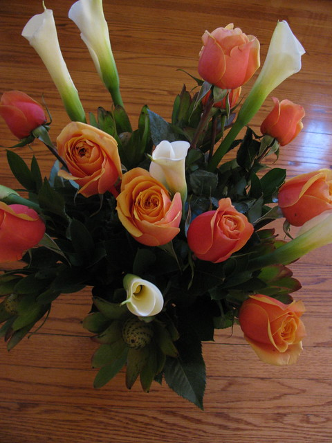 flowers from Karen Swallow Prior