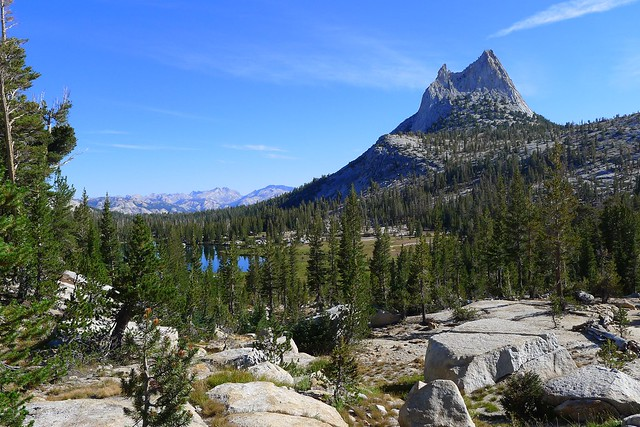 Cathedral Lake and Peak