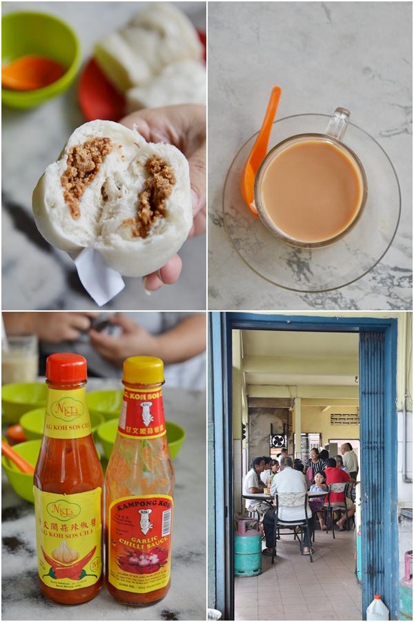 Pau, Tea & Kampung Koh Chili Sauce