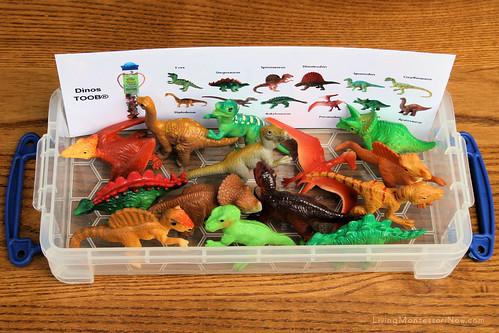 Dino and Dino Babies Matching Activity