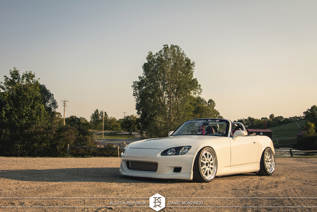 joe lynch white ap1 ap2 honda s2000 shaved bay big turbo ssr 3piece wheels static low slammed fitted fitment hellaflush waffled pancaked stretched tires camber poke tuck flush david mozingo photography seen on klutch republik