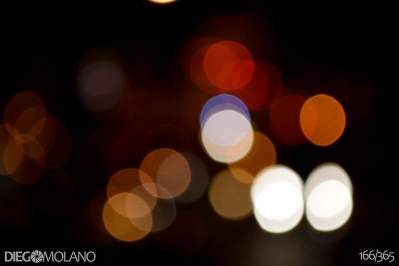 166/365 - Luces de Calle - 09.11.12