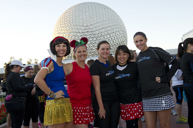 runDisney Wine and Dine Half Marathon Weekend Meet-Up. Photo courtesy of Disney.