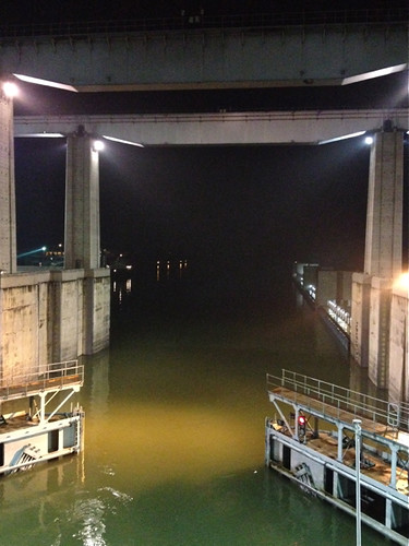 Three Gorges Dam - the final gate opens