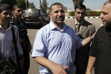 Ahmed Jabari, Hamas military commander, was killed in a targeted assassination in Gaza, Palestine on November 14, 2012. Israel has escalated its assaults on the region of Palestine considered the largest open-air prison in the world. by Pan-African News Wire File Photos