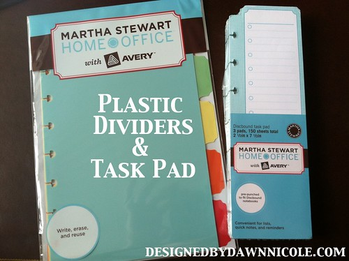 Martha Stewart Discbound Notebook Review & Giveaway