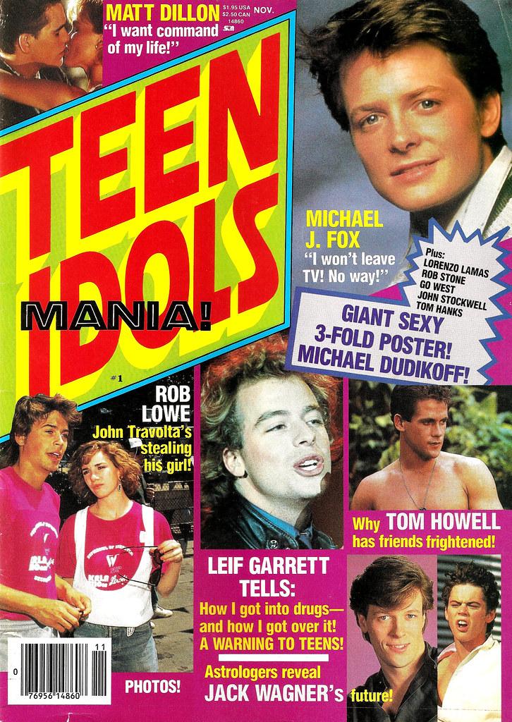 Idol Teen Magazine Teen Pop 102