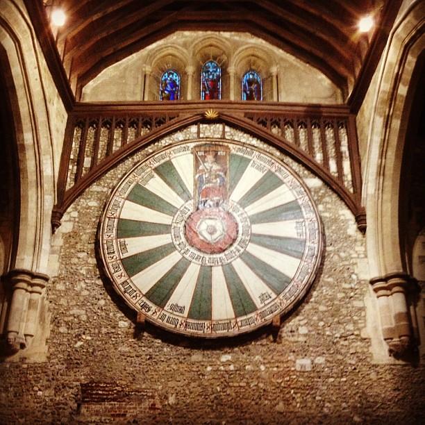 King Arthur 39 S Round Table Winchester Kingarthur Roundtable Flickr