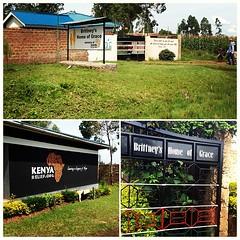 Signage around the campus #KenyaRelief2012
