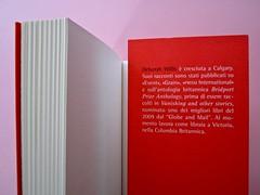 Deborah Willis, Svanire. Del Vecchio editore 2012. Grafica e impaginazione Dario Lucarini. Risvolto della quarta di copertina (part.), 1