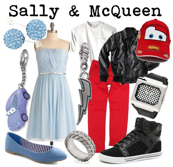 Sally & McQueen (Disney Pixar Cars)