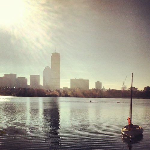 Sunday morning Charles River #Cambridge #Boston