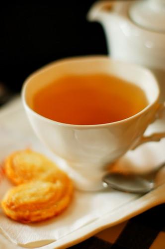 Tea & Palmier Pastry