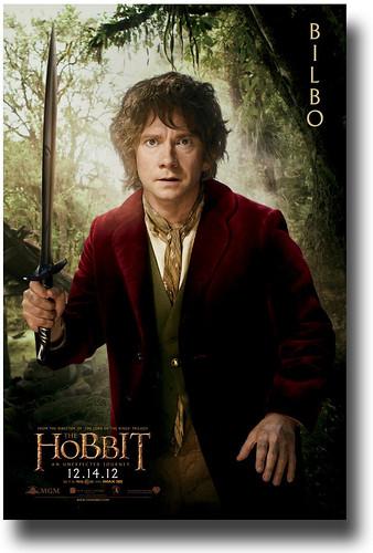 Hobbit Bilbo Character Poster