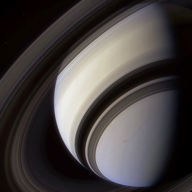 Photo:Saturn in Color By:Lights In The Dark