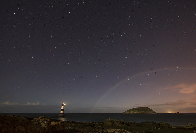 'Lunar Rainbow' - Black Point, Anglesey