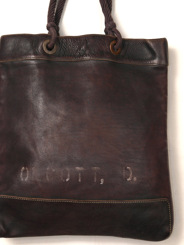 RRL / Leather Market Tote
