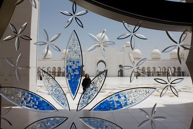 La espectacular Mezquita Sheikh Zayed en Abu Dabi 8208386518_ac4c1ef730_z