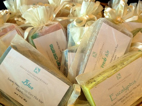 These handmade soaps smell SO good!