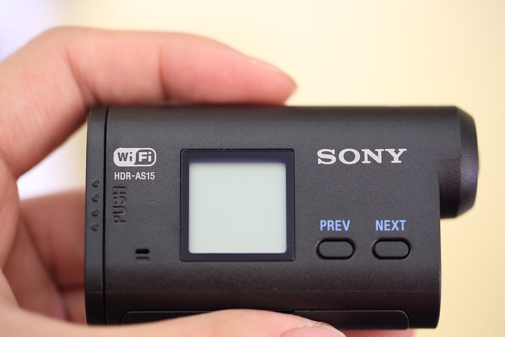 Sony Action Cam HDR-AS15 極限攝影機