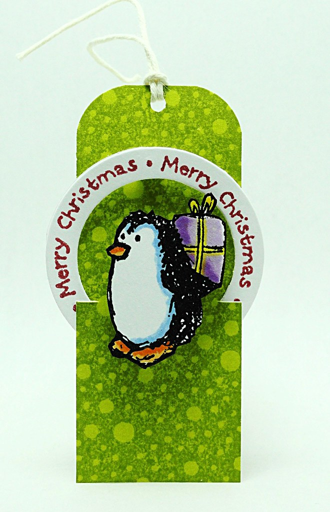 Holiday Penguin Tag
