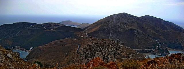 Ακρωτήριο Ταίναρο, Μάνη. Cape Tainaron, Mani, Greece.