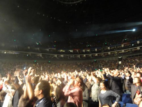 Elton John in concert (Shanghai)