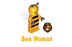 LEGO Minifigures Series 10 -  Bee Woman