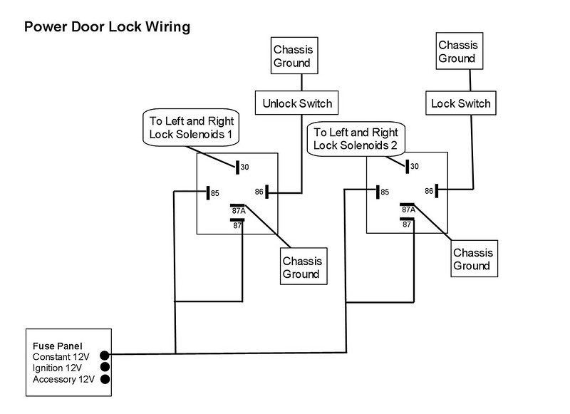 8213842178_9f713202eb_c help with wiring door poppers door popper relay wiring diagram at gsmx.co
