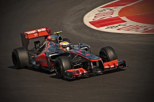 Lewis Hamilton, 2012 Vodafone McLaren Mercedes MP4/27