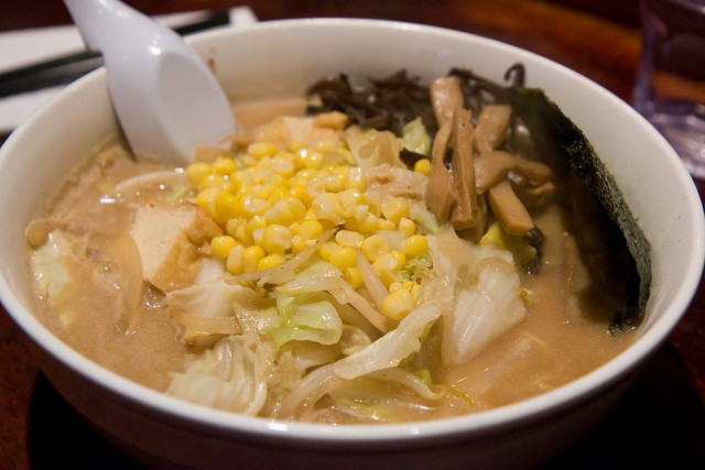 Vegetable miso ramen, Minca