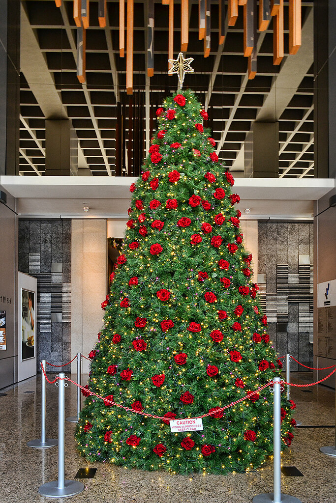 Christmas tree at TripleOne Somerset, Singapore