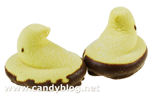 Peeps Chocolate Dipped Sugar Cookie