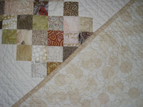 stairs, quilting & back