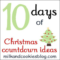 10 Days of Christmas Countdown Activities (Photo from Milk and Cookies)