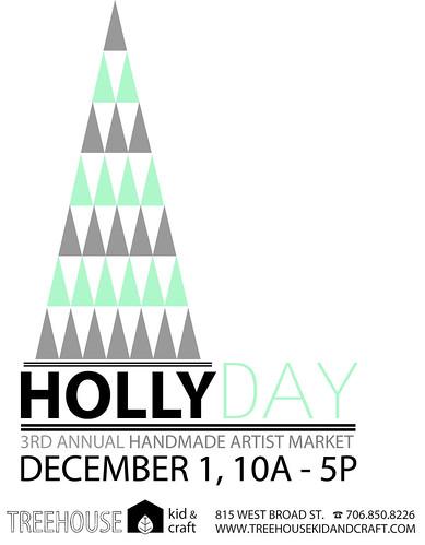 hollyday-handbill