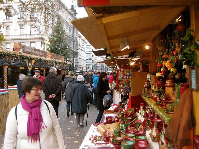 Budapest Christmas Fair, Vorosmarty Square