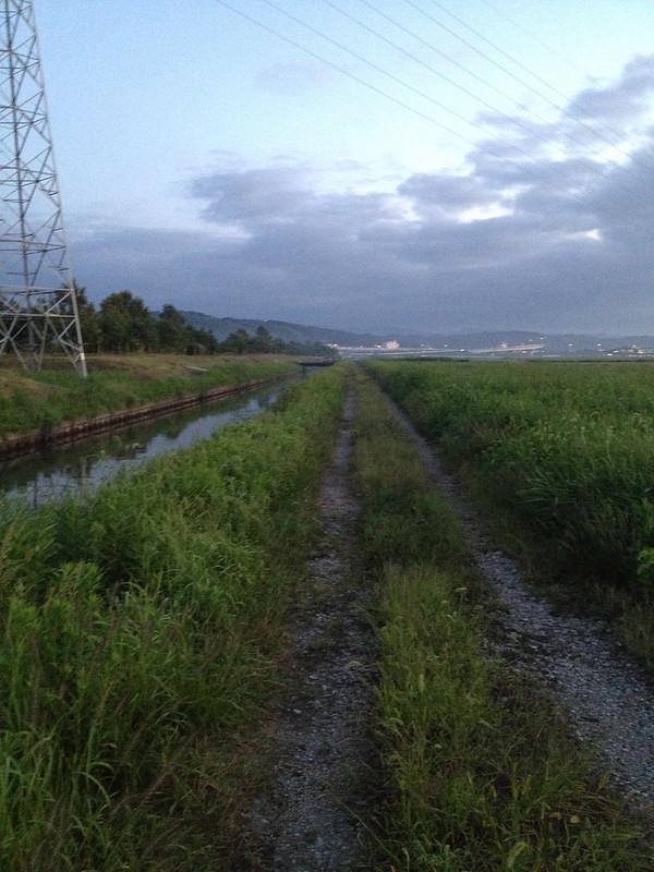 金沢へ向かう道 農道 その2