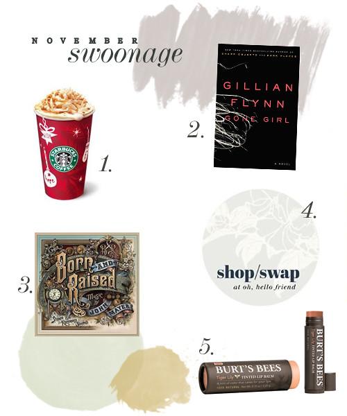 November Swoonage