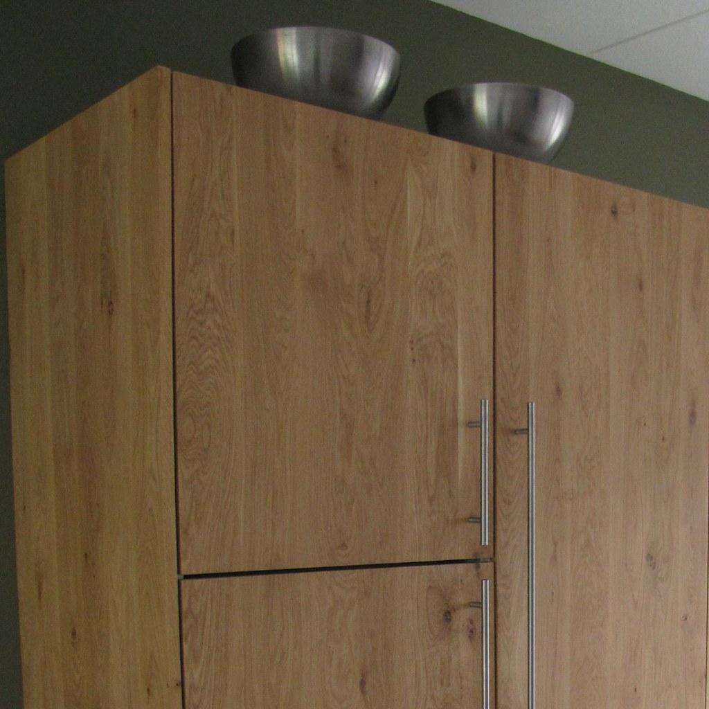 Massief eiken houten keuken met ikea keuken kasten door koak ...