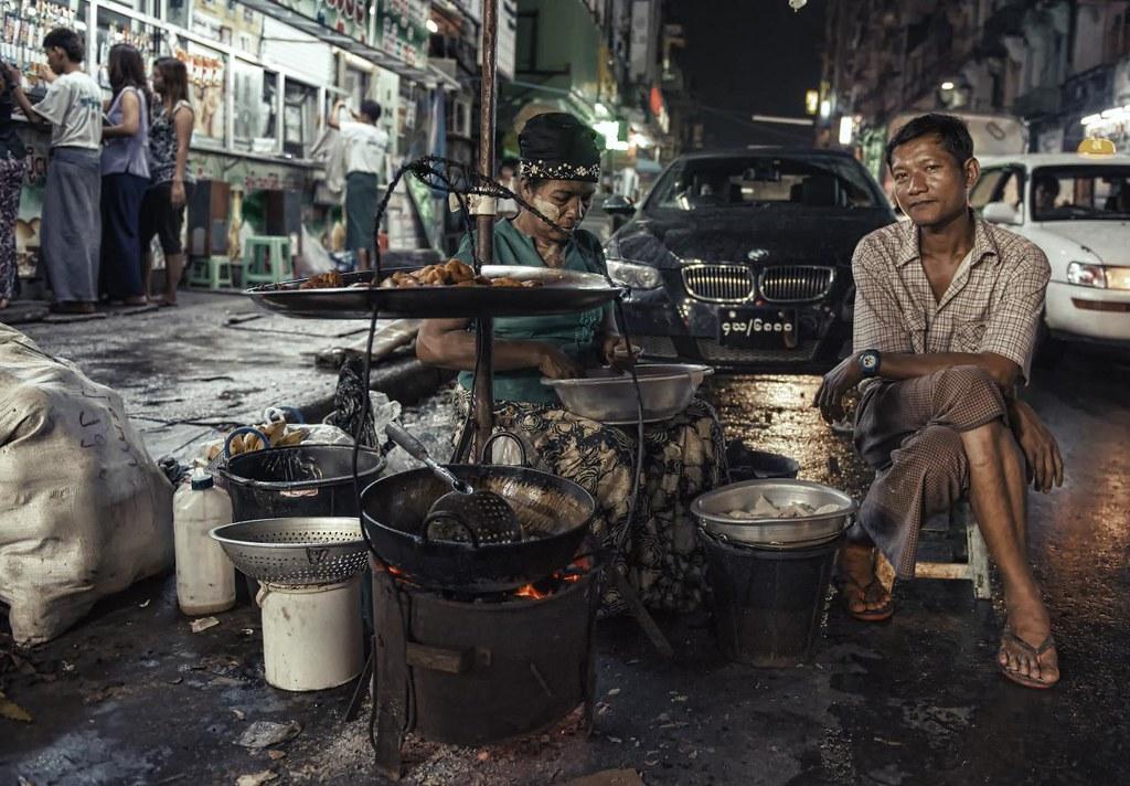 Myanmar Juxtaposition
