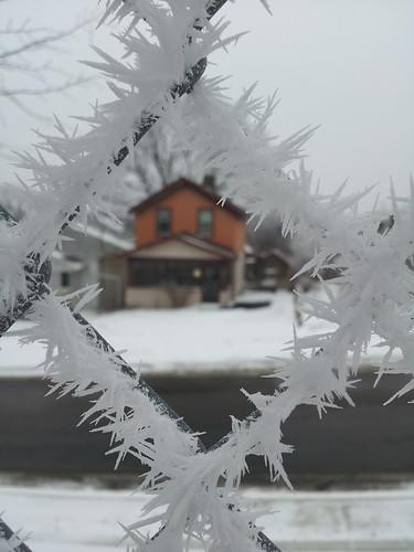 Frosty frame by crisscrossgirl